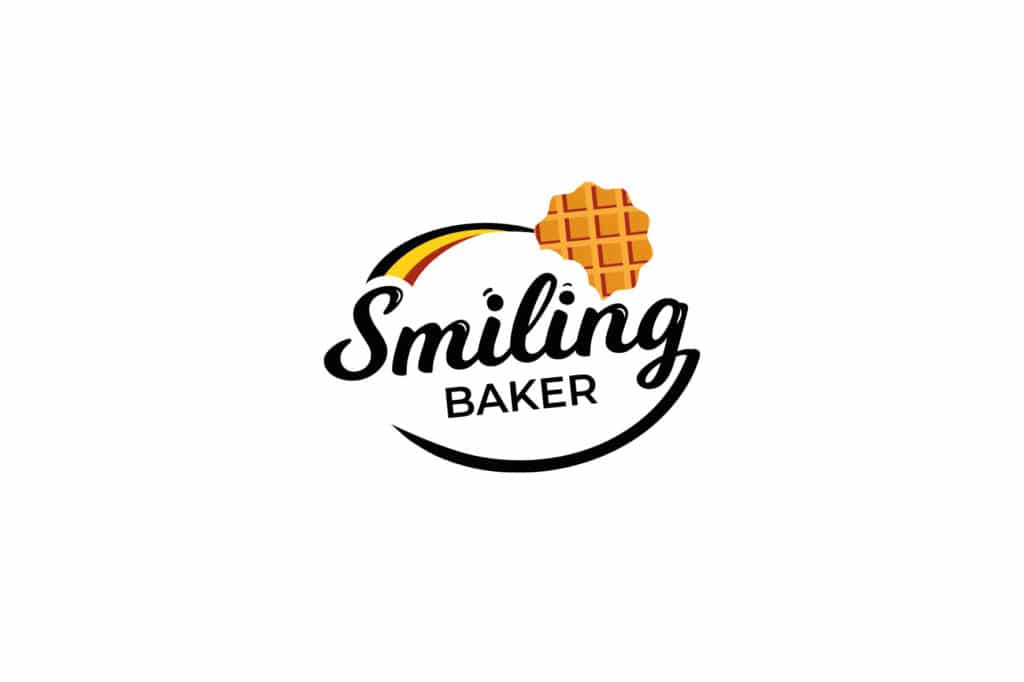 smiling baker
